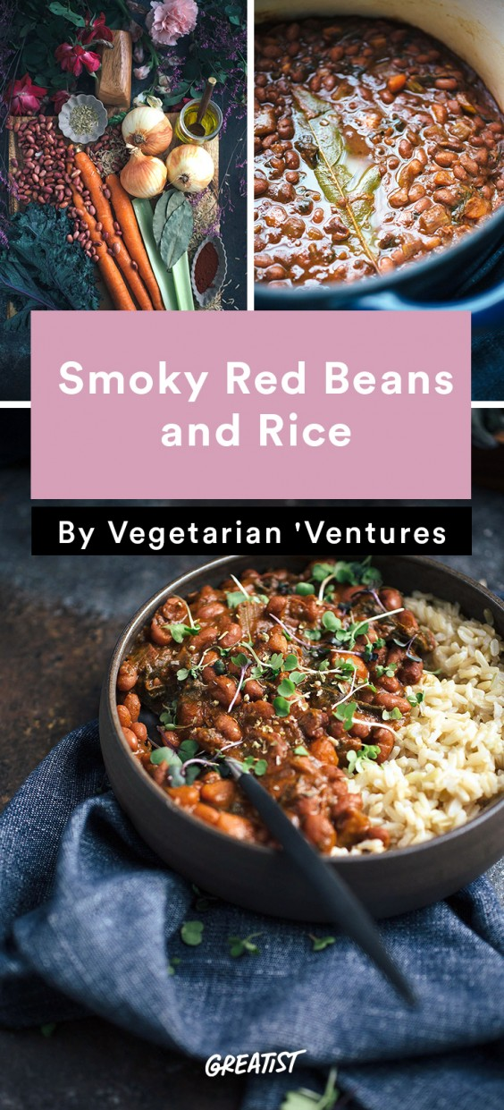 Vegetarian Ventures roundup: Smoky Red Beans and Rice