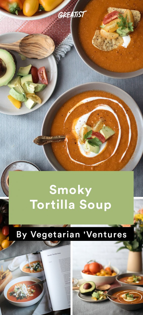 Vegetarian Ventures roundup: Tortilla Soup