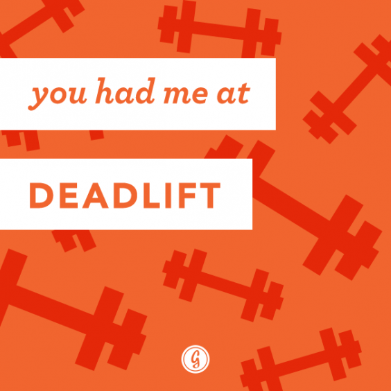 valentine's day card deadlift