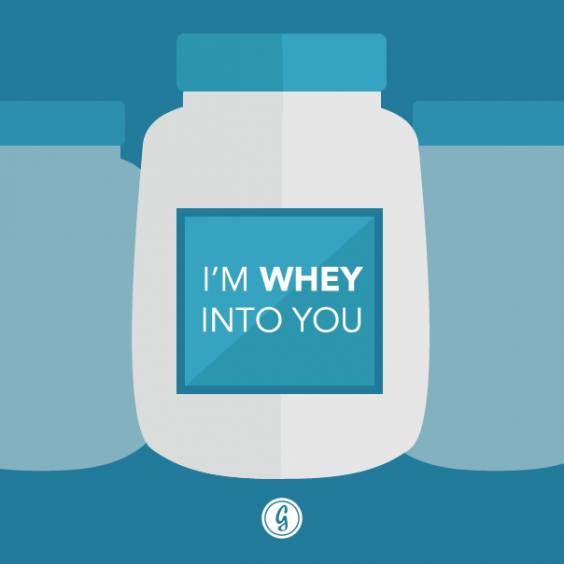 valentine's day card whey