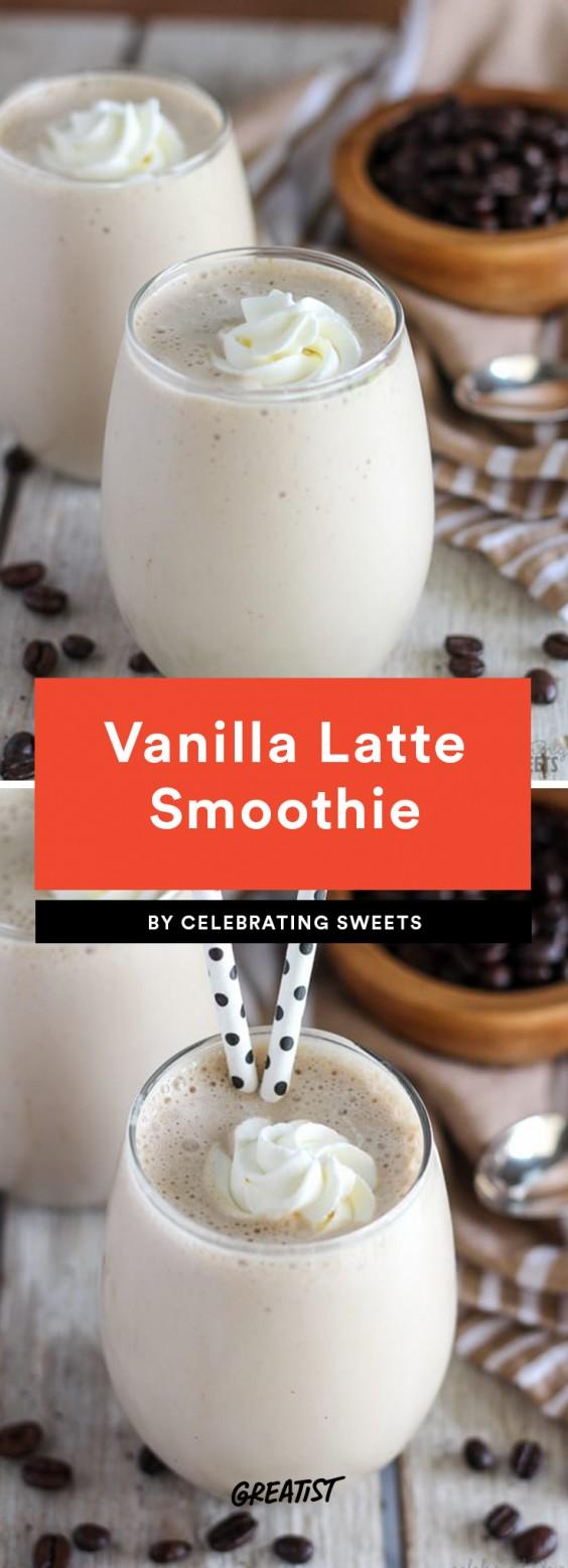 Vanilla - 7 EIWIT RIJKE SUPER LEKKERE KOFFIE SMOOTHIES RECEPTEN