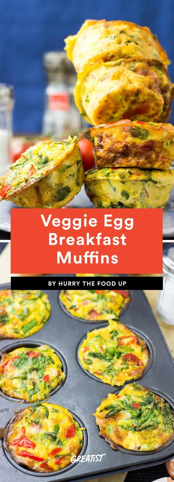 Veggie Egg Breakfast Muffins