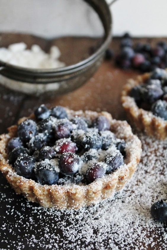Cooking For Two: Vegan Blueberry Tarts Recipe