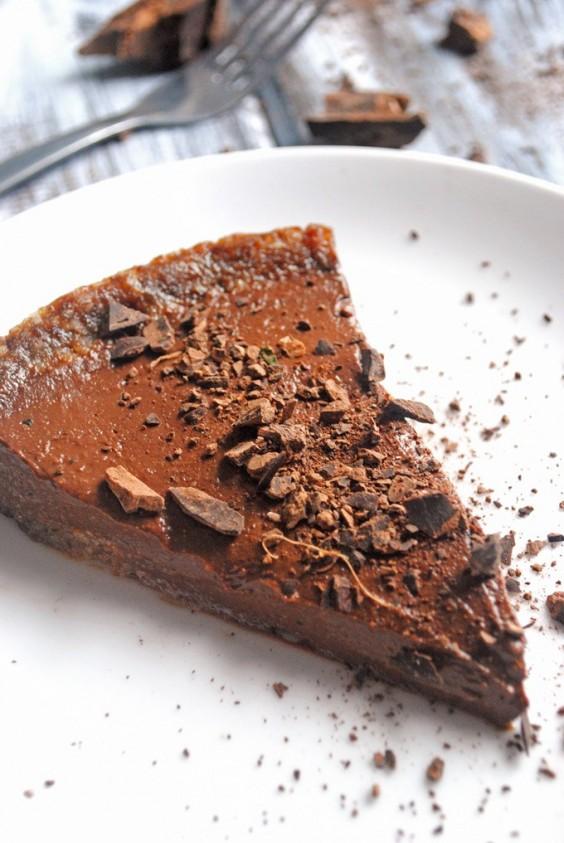 Tofu Recipes: Vegan Chocolate Pudding Pie