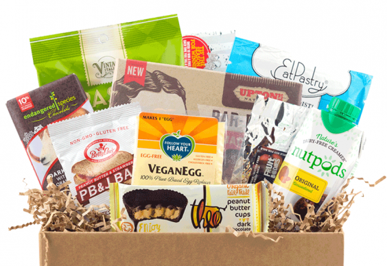 Subscription Box Healthy Snacks: Vegan Cuts