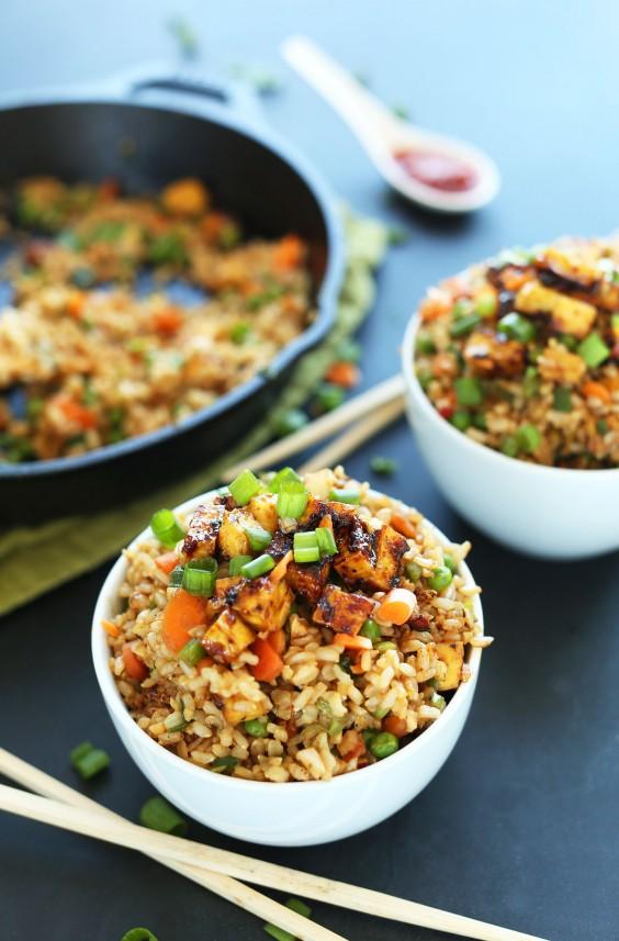 Tofu Recipes: Vegan Fried Rice