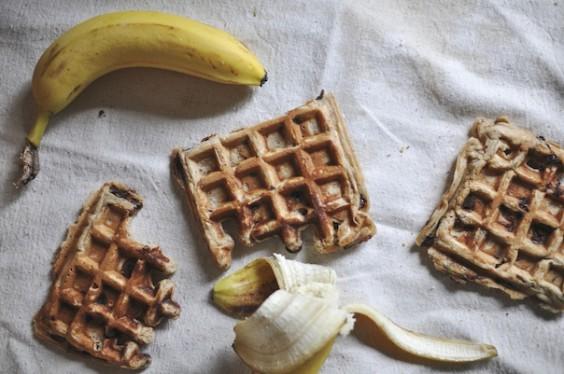 Vegan Peanut Butter Waffles