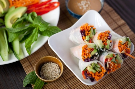 Vegan Salad Rolls