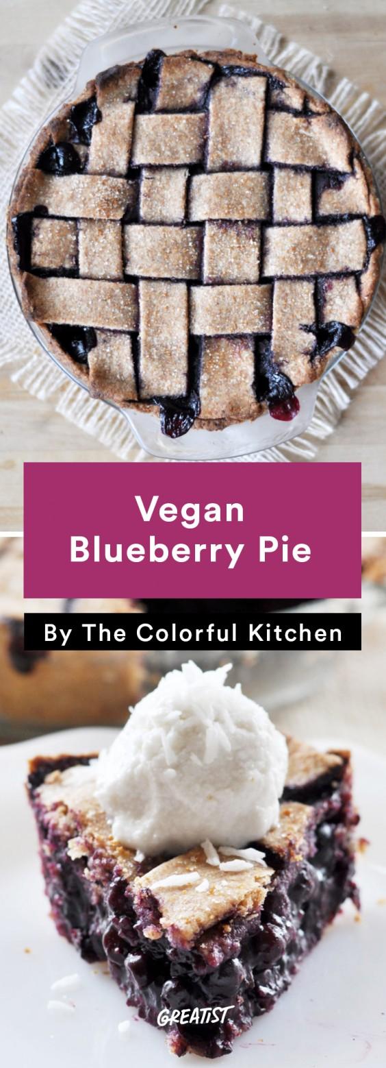 BBQ Classics: Vegan Blueberry Pie