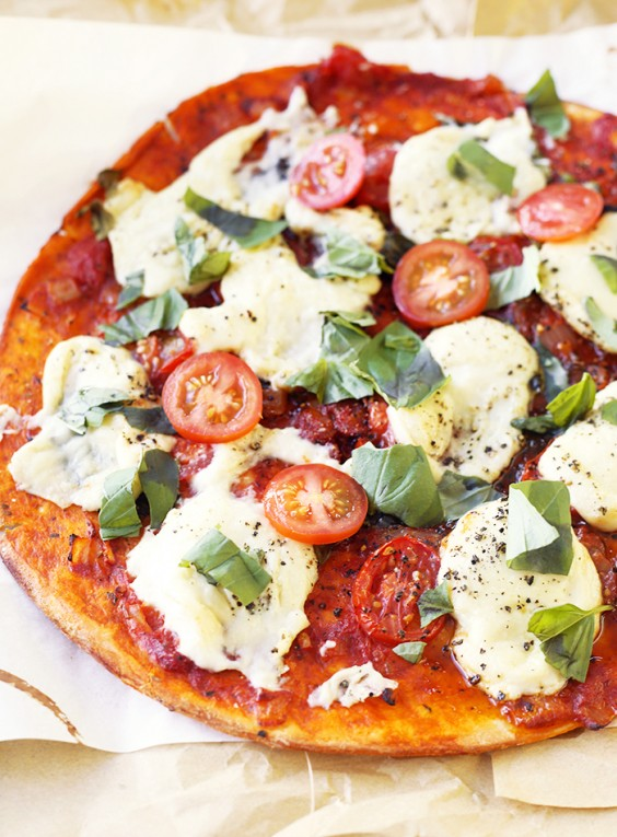 Vegan Margherita Pizza Recipe