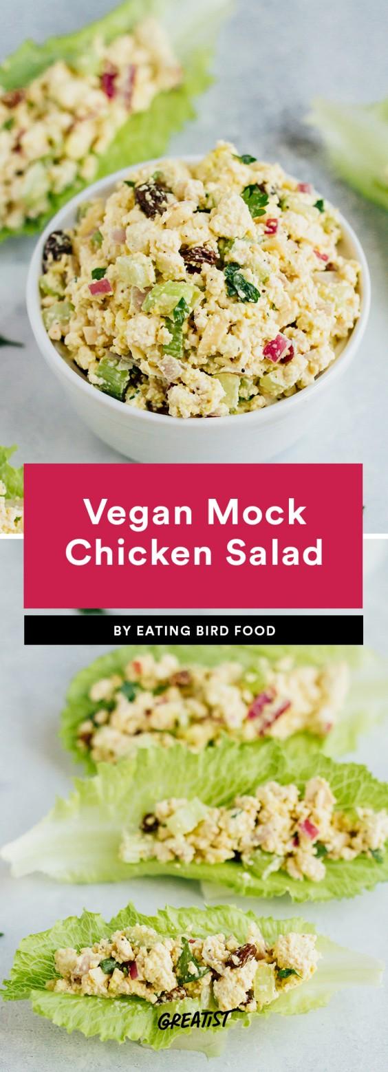 Vegan Mock Chicken Salad