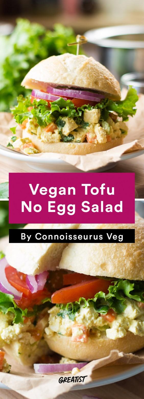 Tofu Recipes: Vegan Tofu No-Egg Salad