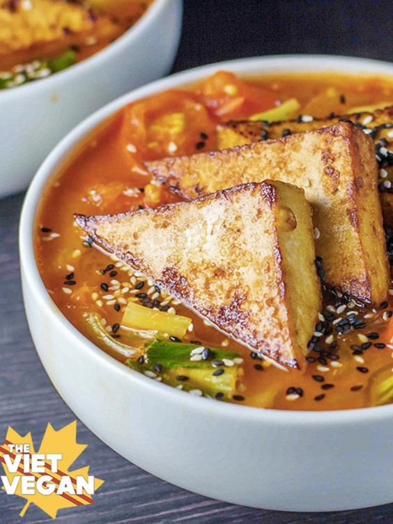 Spicy Lemongrass Noodle Soup