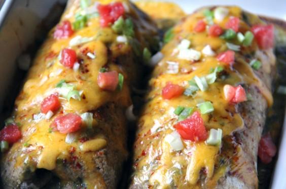 Recipe: Healthier Vegetable Enchiladas