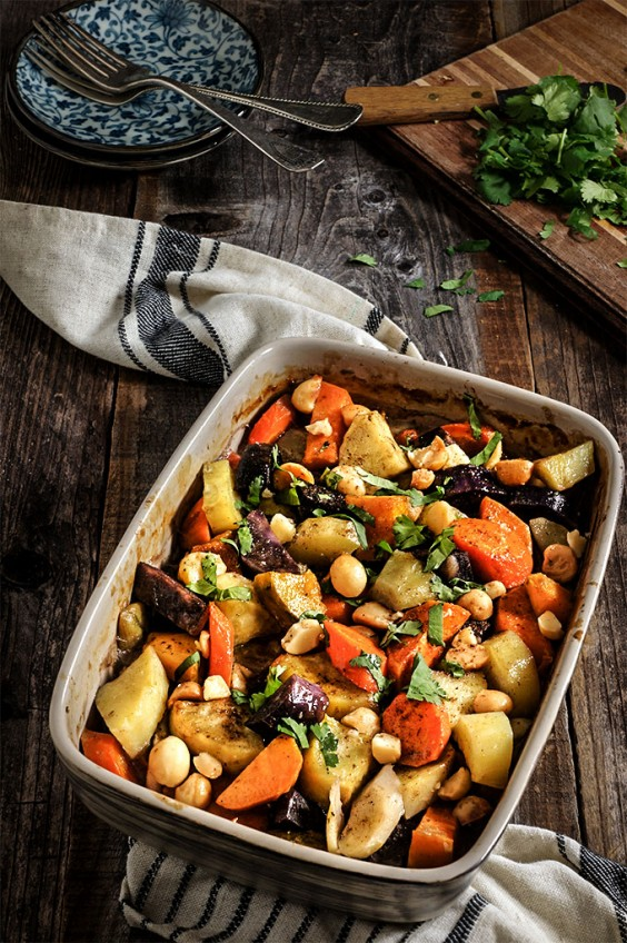 15. Roasted Root Vegetables