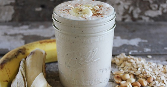 Vitamix PB Banana Smoothie