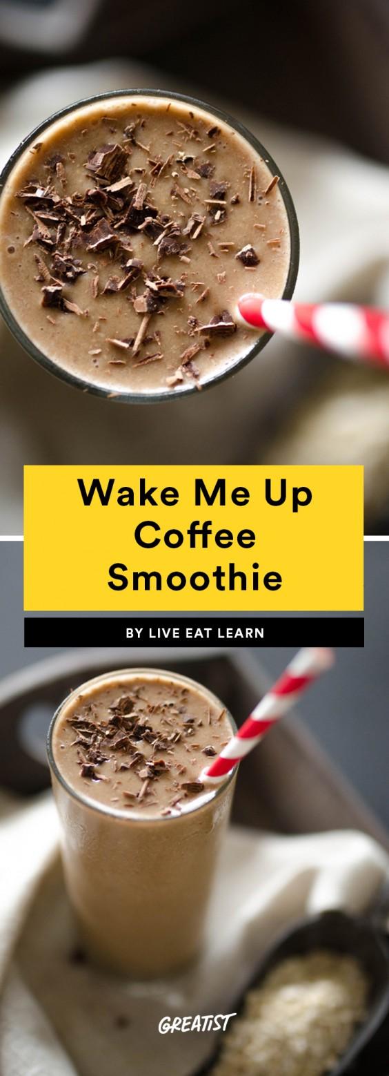 Wake Me Up - 7 EIWIT RIJKE SUPER LEKKERE KOFFIE SMOOTHIES RECEPTEN