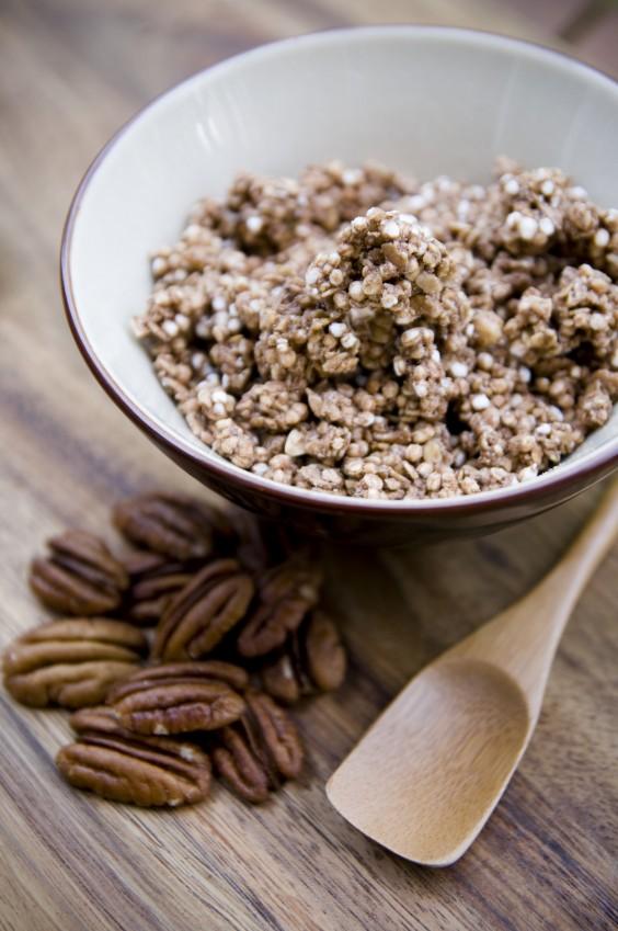14. Warm and Nutty Cinnamon Quinoa