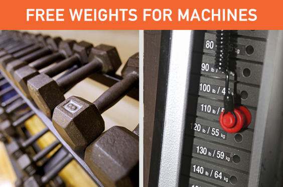 Simple Swaps to Change Your Life: Free Weights for Machines