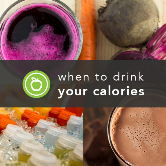 Drink your calories