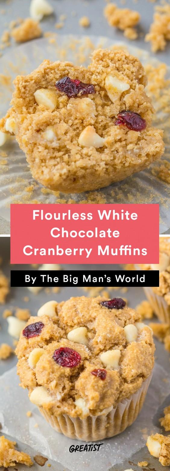 big mans world muffins: Cranberry