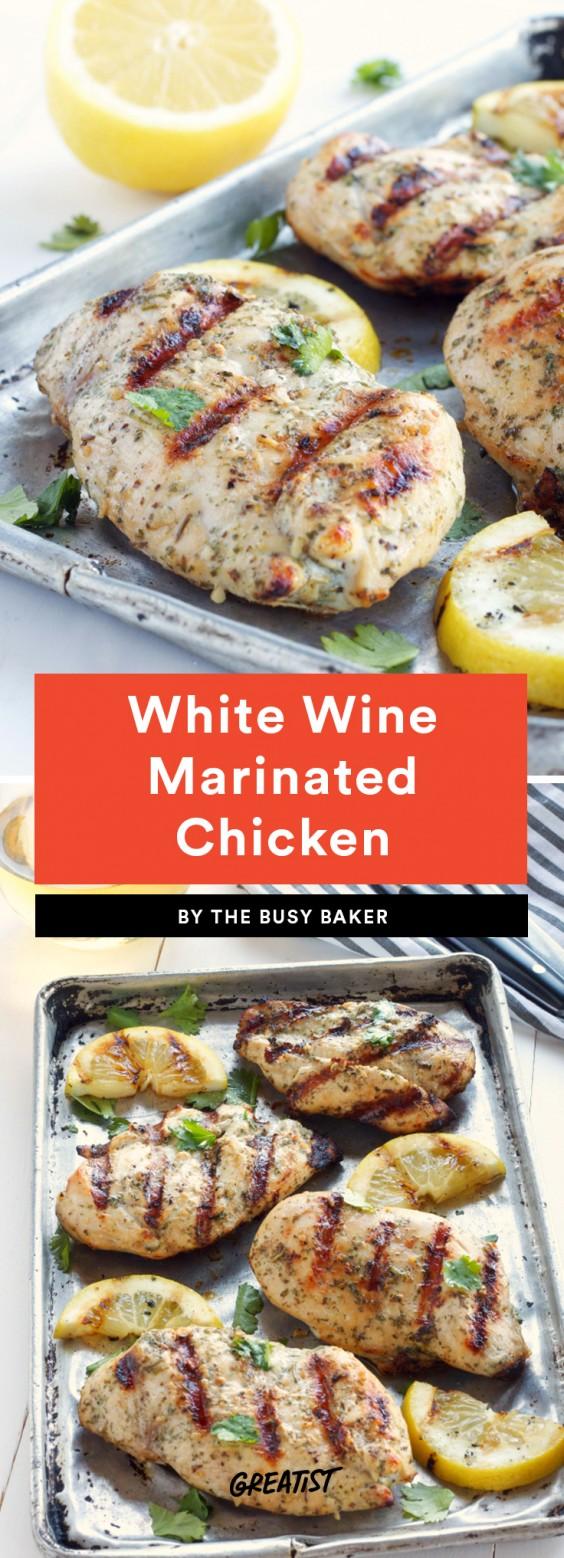 White Wine Marinated Chicken