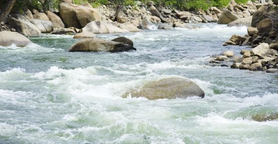 River and Meditation