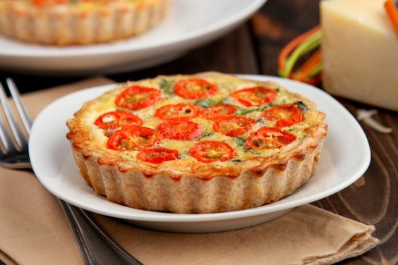 Healthy Whole-Wheat Vegetable Quiche