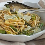 Whole-Wheat Pasta with Lemon and Asparagus_150sq
