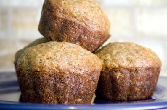 Whole-Wheat Zucchini Muffins