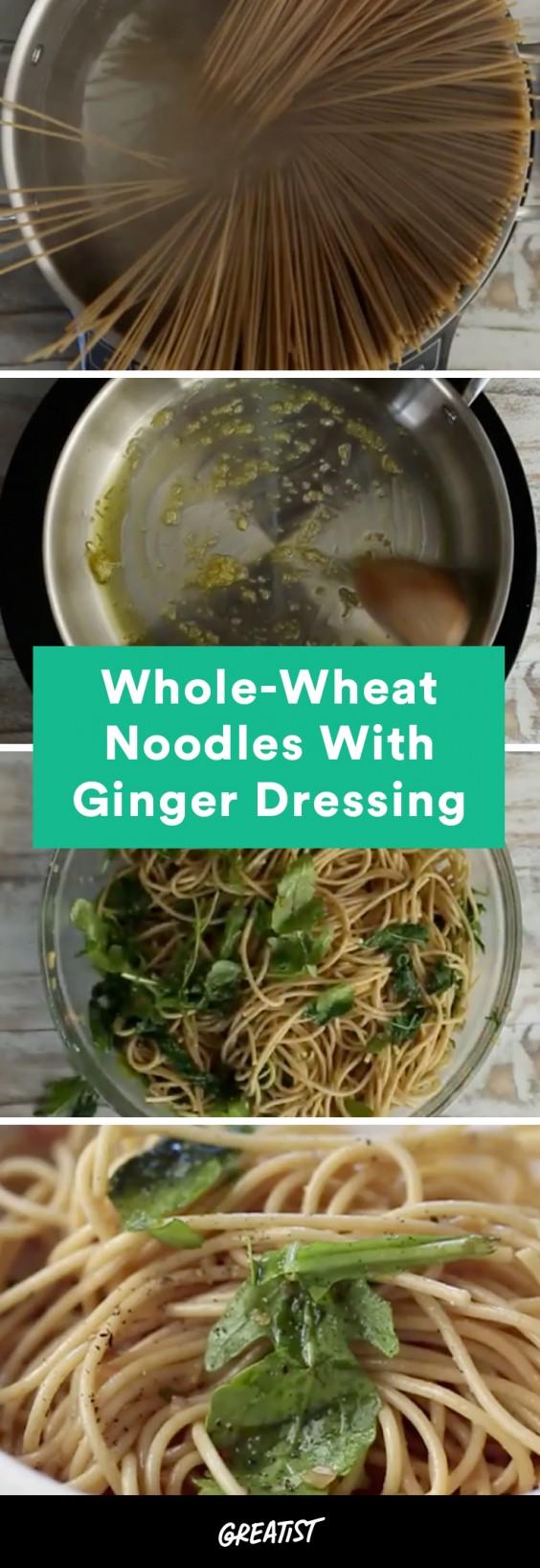 video: whole wheat noodles