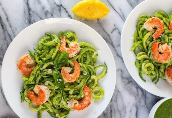 Chive Zoodles