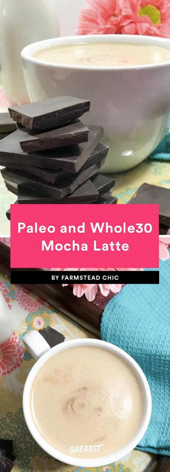 Paleo and Whole30 Mocha Latte