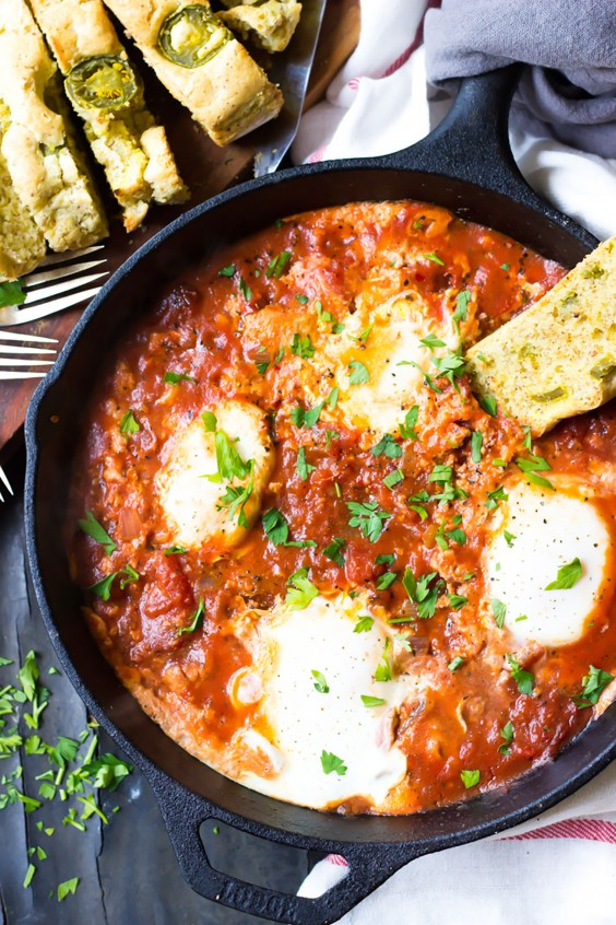 Paleo Dinner Party Ideas Part - 25: Whole30 Dinner Recipes: Paleo Eggs In Hell