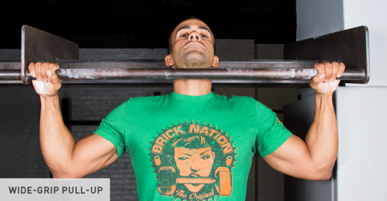 Wide-Grip Pull-Up