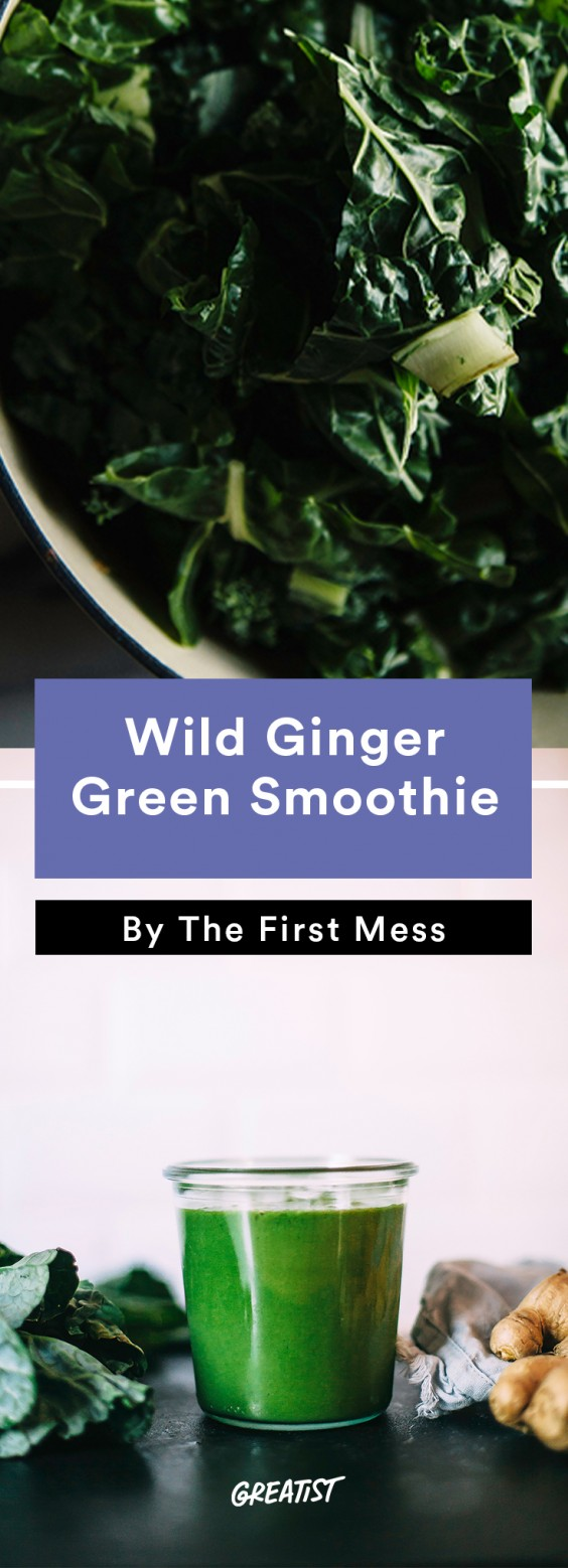 First Mess roundup: Wild Ginger Green Smoothie
