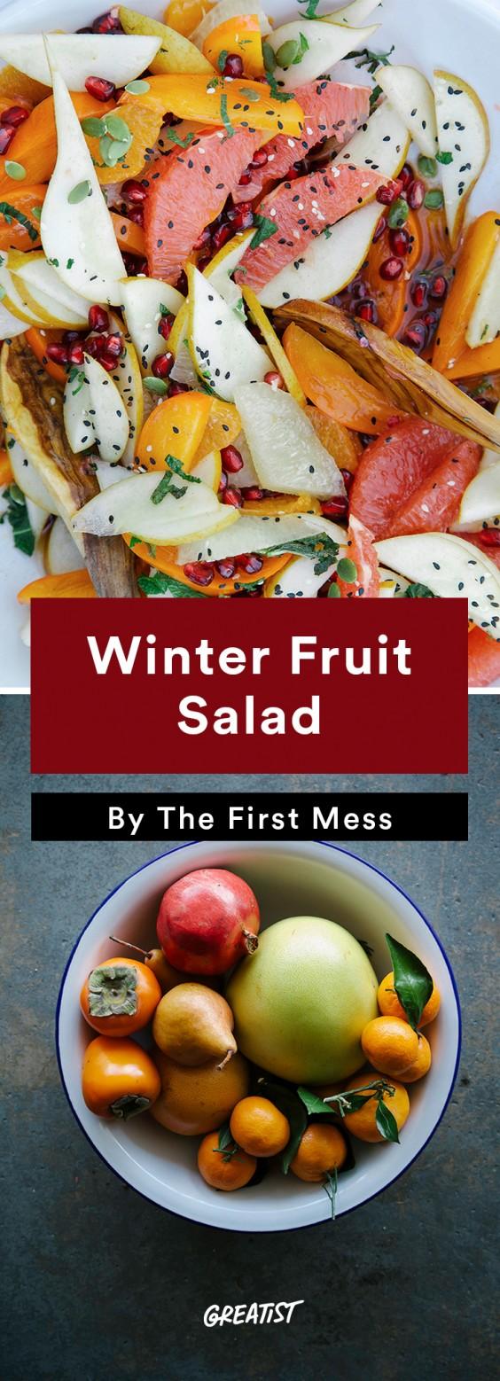 Brunch Recipes: Winter Fruit Salad