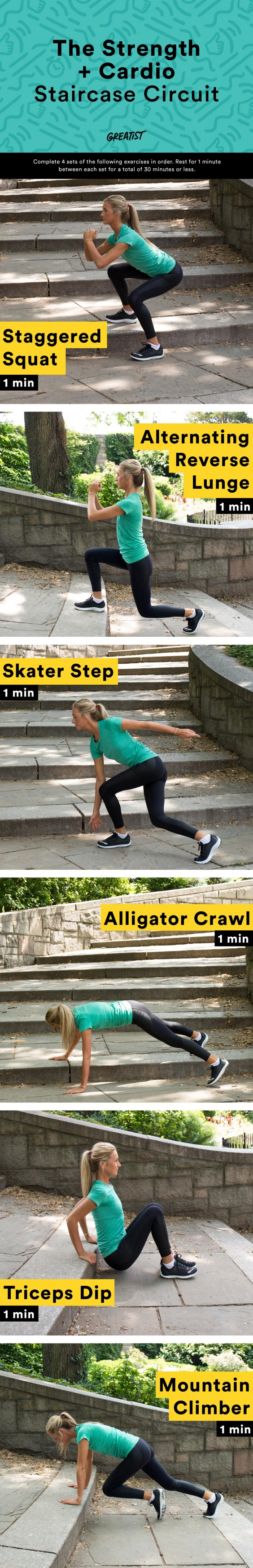 Staircase Workout