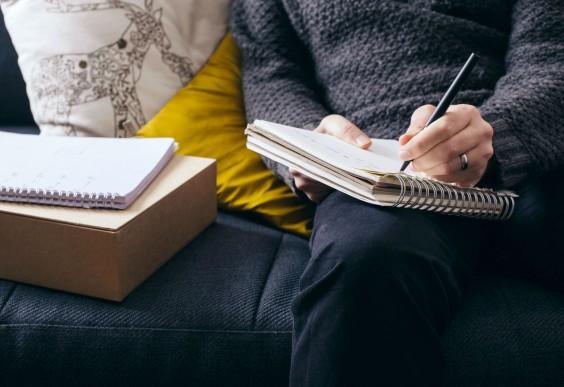 Increase Creativity: Writing Down Notes