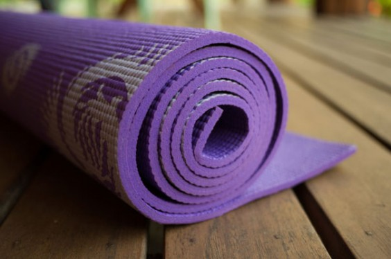 21 Germiest Places You're Not Cleaning: Yoga Mat