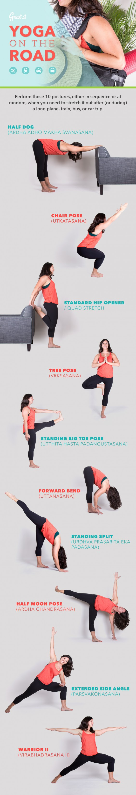 Yoga on the Road Graphic