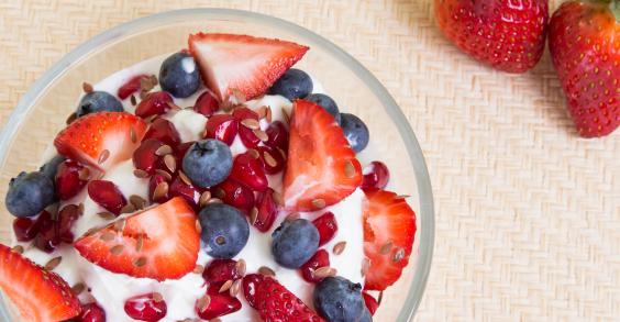 Breakfast for Busy Mornings: Yogurt Parfait