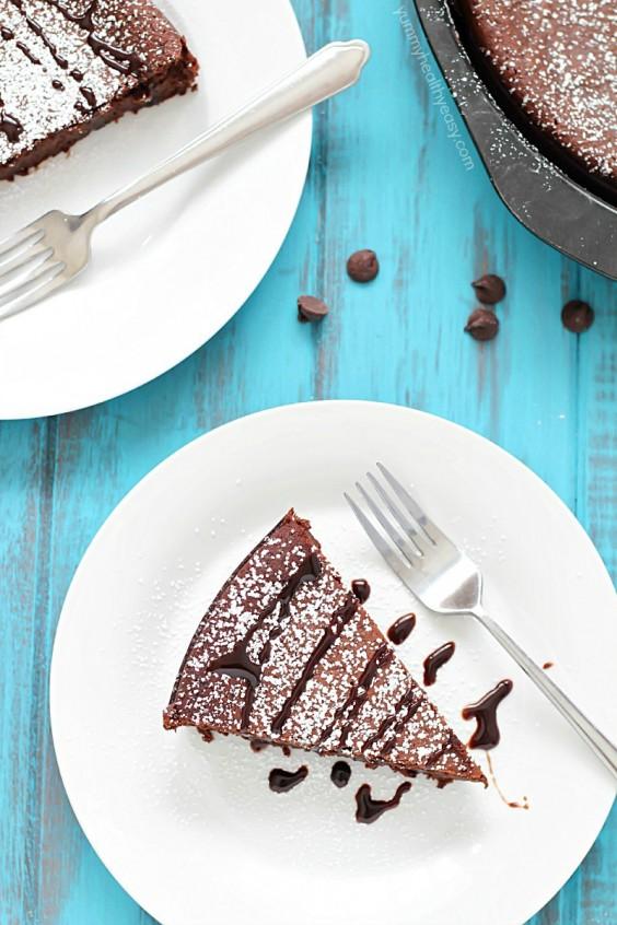 12. Flourless Chocolate Cake