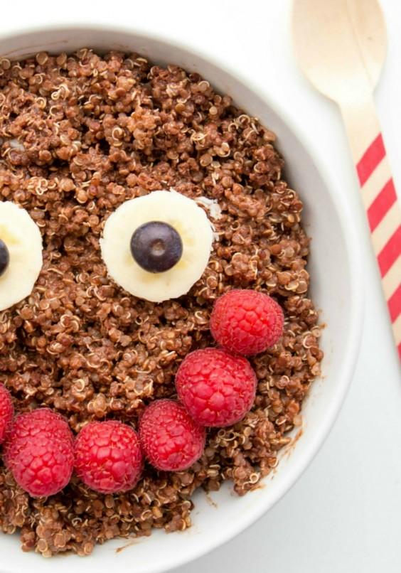 11. Chocolate Quinoa Healthy Breakfast Bowl