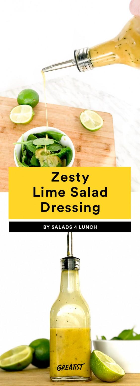 Zesty Lime Salad Dressing