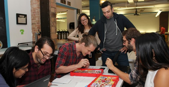 ZocDoc Employees Playing Operation