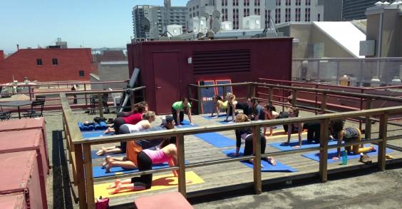 ZOZI Rooftop Yoga