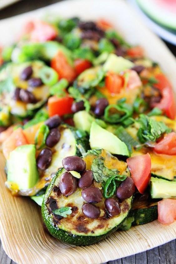 Grilled Zucchini Nachos Recipe