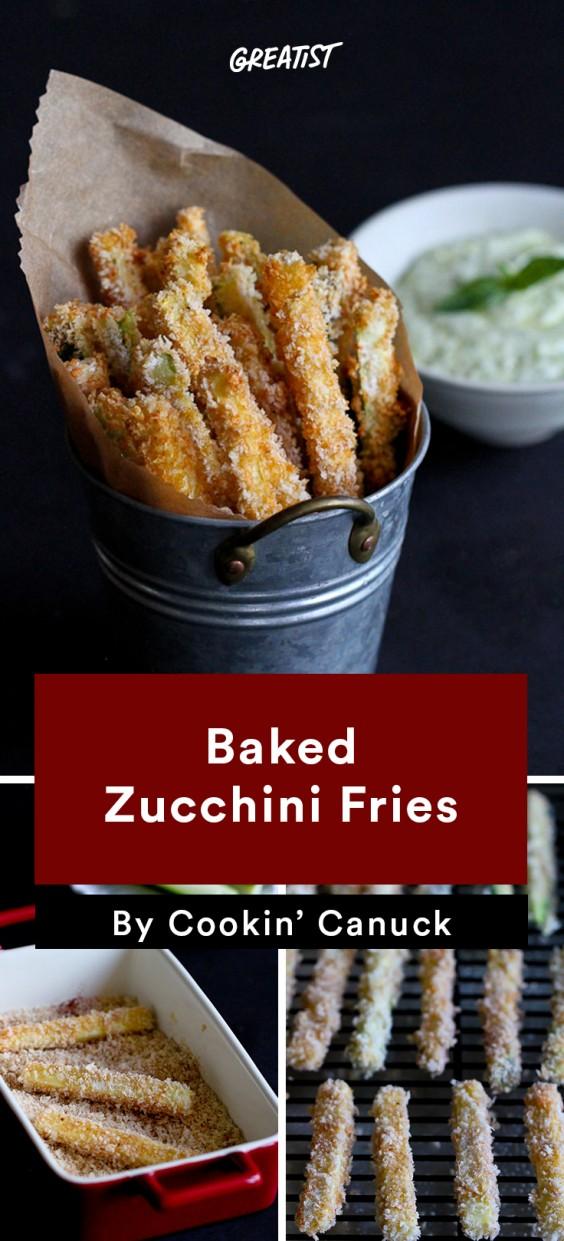 Zucchini Carbs: Fries