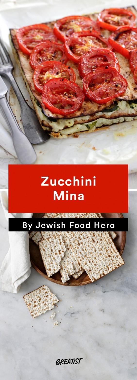 jewish food hero: Zucchini Mina
